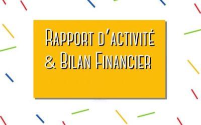 Rapport financier et d'activité 2020